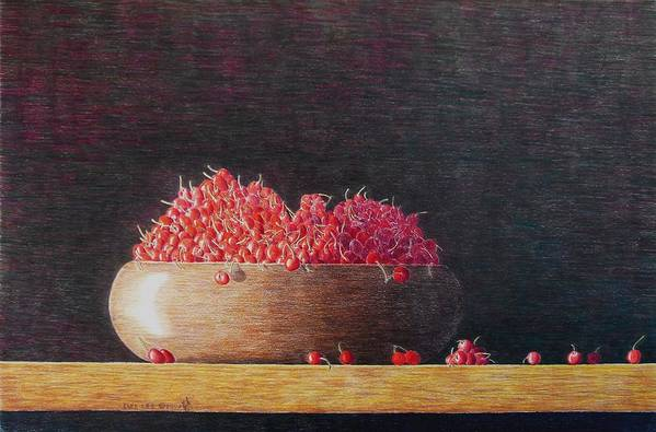Still Life Art Print featuring the painting Full Life by A Robert Malcom