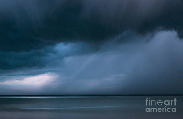 New England Art Print featuring the photograph Gathering Storm by John Greim