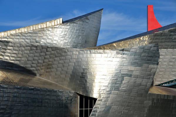 Guggenheim Art Print featuring the photograph Guggenheim Museum Bilbao - 5 by RicardMN Photography