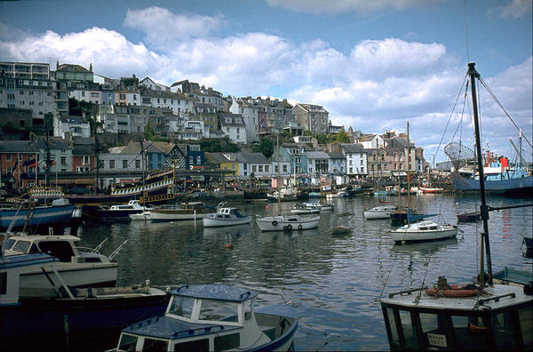 Great Britain Art Print featuring the photograph Harbor by Flavia Westerwelle