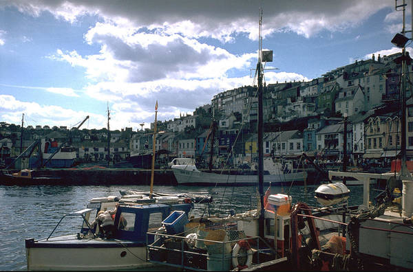 Great Britain Art Print featuring the photograph Harbor II by Flavia Westerwelle