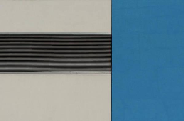 Urban Art Print featuring the photograph Horizontal Grille by Stuart Allen