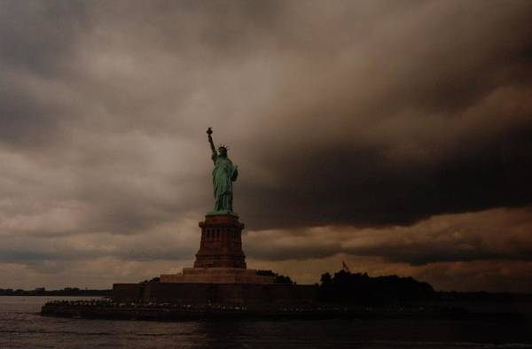 Statue Of Liberty Art Print featuring the photograph Lady Liberty by Rob Hans
