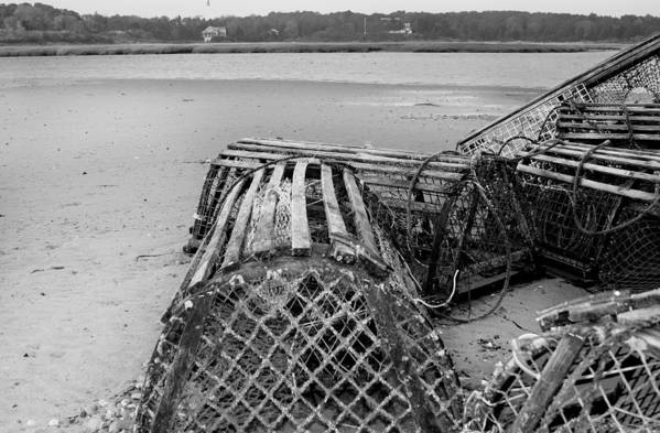Lobster Trap Art Print featuring the photograph Lobstertrap by Dapixara Art