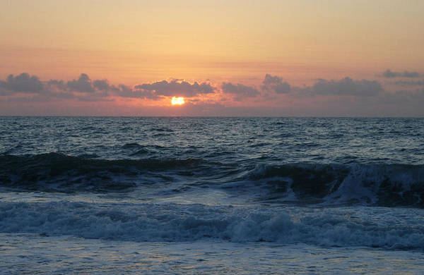 Majestic Art Print featuring the photograph Majestic Atlantic Sunrise by Stephanie H Johnson