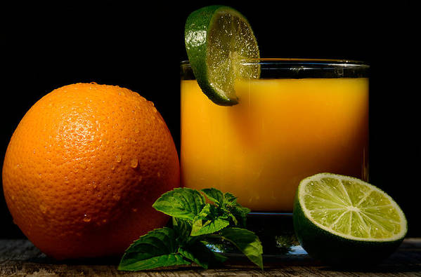Oranges Art Print featuring the photograph Natural And Tasty by Catalin Tibuleac