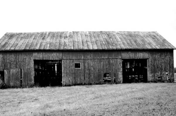Black Art Print featuring the photograph Old Barn by Rancher's Eye Photography