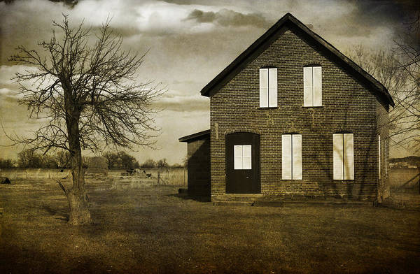 House Art Print featuring the photograph Rustic County Farm House by James BO Insogna