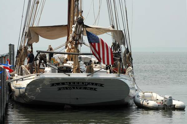 Sailing Ship Art Print featuring the photograph Ship 19 by Joyce StJames