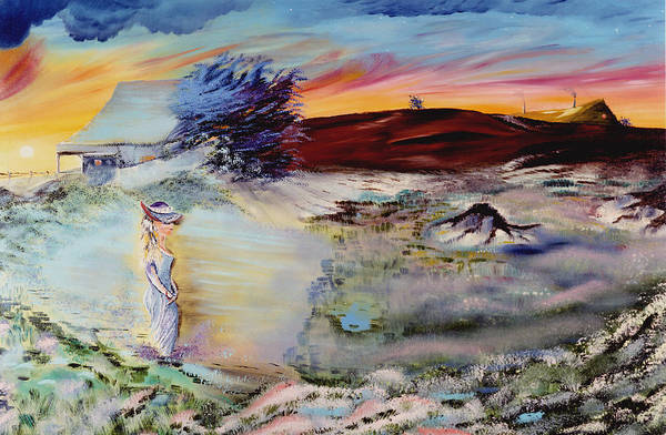 Prints Print featuring the painting Southern Nights by Richard Barham