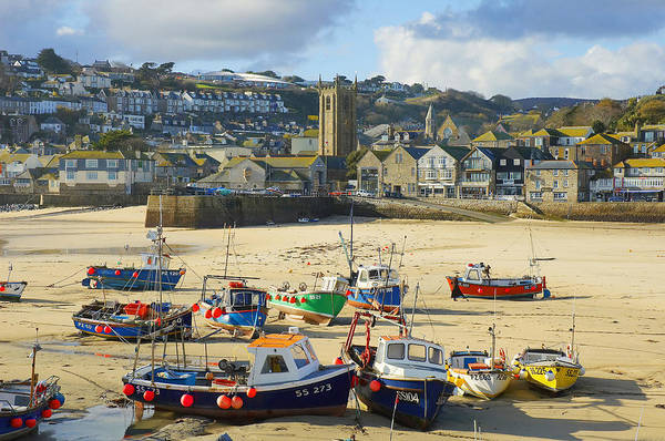 St Ives Art Print featuring the photograph St Ives by Elisa Locci