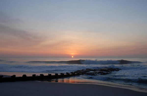 Ocean Sunrise Art Print featuring the photograph Sunrise Ocean 47 by Joyce StJames