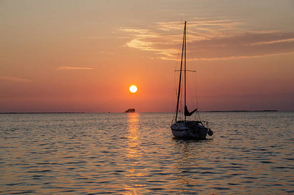 Sunset Art Print featuring the photograph Sunset Dreams - Florida by Bill Cannon