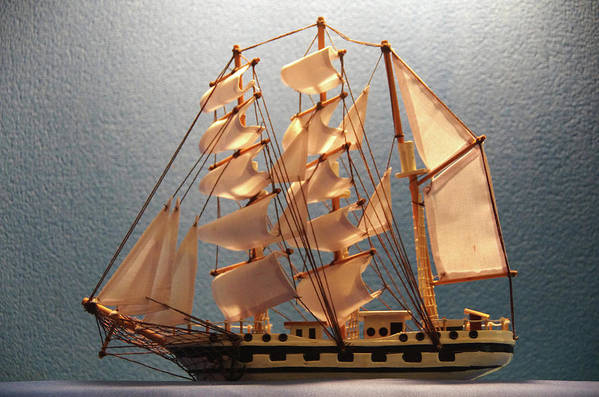 Sail Art Print featuring the photograph Tall Ship-2 by Hugh Kroetsch