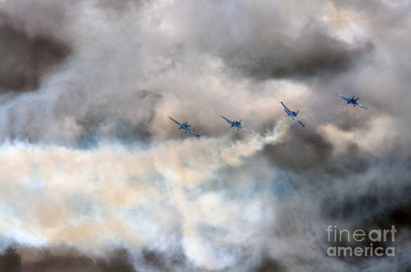 Blades Art Print featuring the photograph The Blades Extra 300 by Angel Ciesniarska