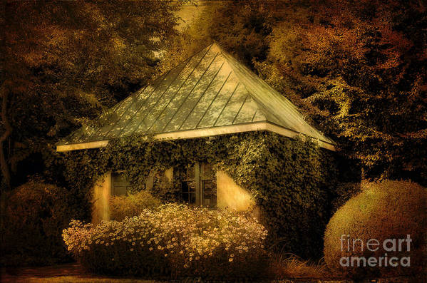 Gatehouse Art Print featuring the photograph The Gatehouse by Lois Bryan