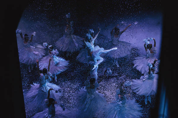 Indoors Art Print featuring the photograph The Joffrey Ballet Dances The by Sisse Brimberg