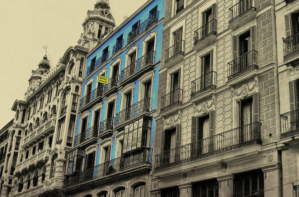 Architecture Art Print featuring the photograph The Streets Of Toledo by JAMART Photography