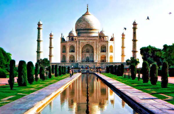 Taj Art Print featuring the photograph To Love... by Steve Harrington