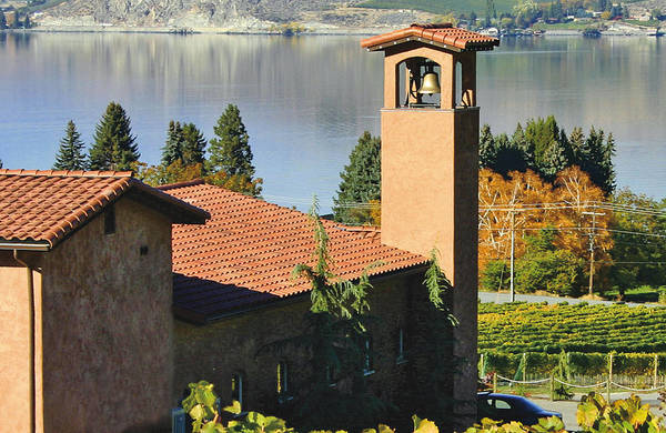 Pictures Of Washington State Art Print featuring the photograph Tsillan Cellars Winery by Wendy Raatz Photography