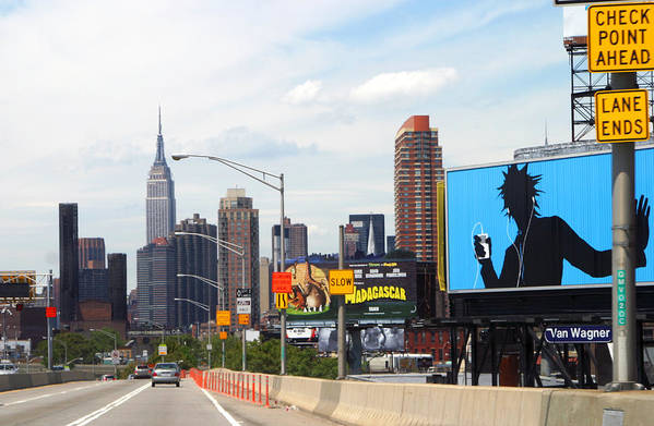 Nyc Art Print featuring the photograph Welcome To Nyc by Chuck Kuhn