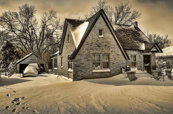 Winter Art Print featuring the photograph Winter Snow II by Ricky Barnard