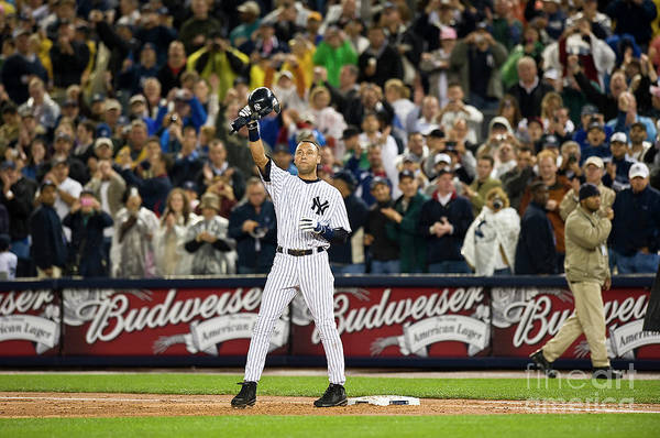 People Art Print featuring the photograph Mlb Sep 11 Orioles At Yankess - Derek 1 by Icon Sports Wire