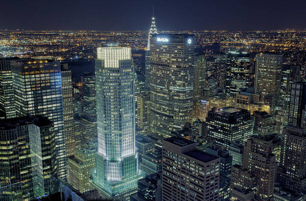 Metropolitan Life Insurance Company Tower Art Print featuring the photograph Madison Avenue by Terence Chang