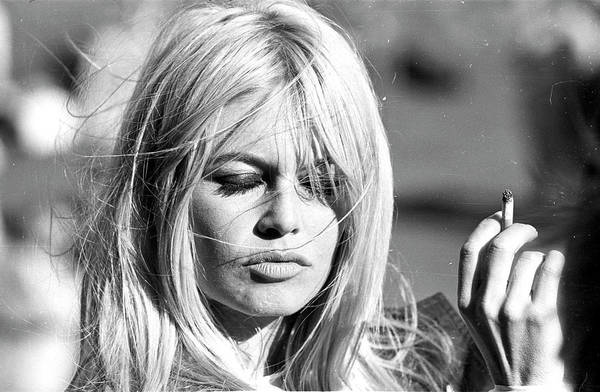 People Art Print featuring the photograph Photo Of Brigitte Bardot by Michael Ochs Archives