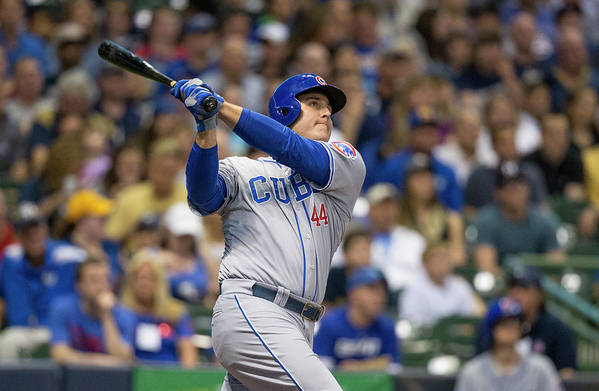 People Art Print featuring the photograph Anthony Rizzo by Tom Lynn