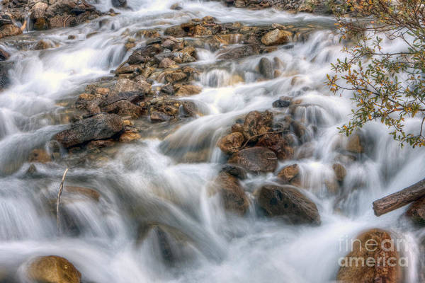 Falls Art Print featuring the photograph 0190 Glacial Runoff 2 by Steve Sturgill