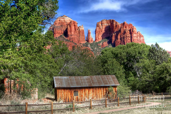 Sedona Art Print featuring the photograph 0682 Red Rock Crossing - Sedona Arizona by Steve Sturgill