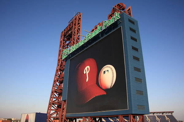 America Art Print featuring the photograph Citizens Bank Park - Philadelphia Phillies by Frank Romeo