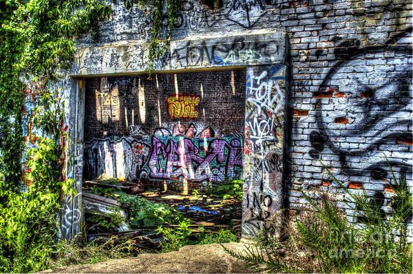 Graffiti Art Print featuring the photograph Address Unknown by Daniel Gundlach