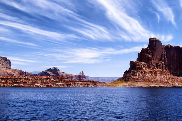 Lake Powell Art Print featuring the photograph Lake Powell by Mountain Dreams