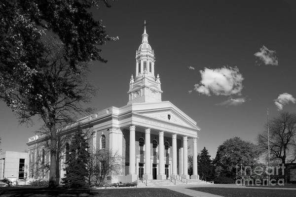 Appleton Art Print featuring the photograph Lawrence University Memorial Chapel by University Icons