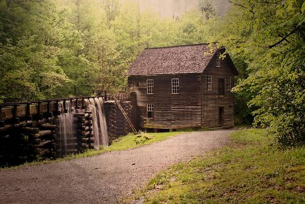 Mill Art Print featuring the photograph Mingus Mill by Marty Koch