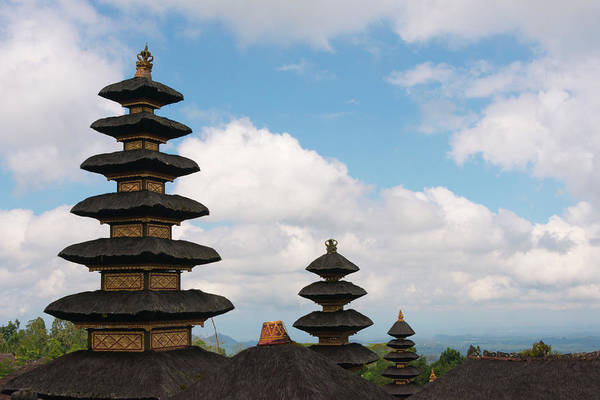 Architecture Art Print featuring the photograph Mother Temple Of Besakih, The Most by Keren Su