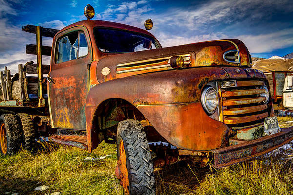 Truck Art Print featuring the photograph Old Ford by Christian Peay