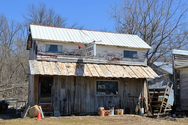 Store Art Print featuring the photograph Old Paint by Bonfire Photography