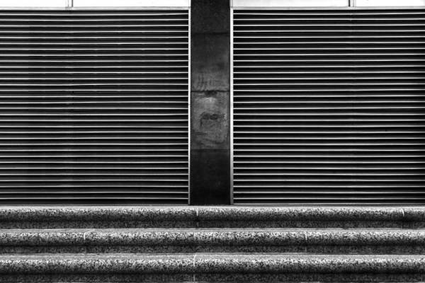 Black And White Art Print featuring the photograph Parallelism by Robert Ullmann