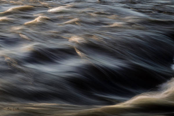 Water Art Print featuring the photograph River Flow by Bob Orsillo
