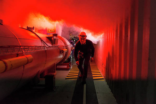 Equipment Art Print featuring the photograph Safety Training At Cern by Cern