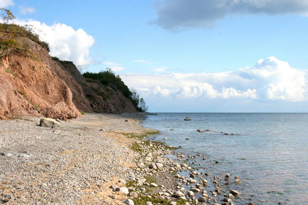 Art Print featuring the photograph Shore Of Lake Erie by Kathy Peltomaa Lewis