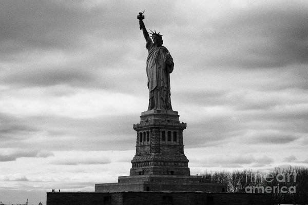 Usa Art Print featuring the photograph Statue Of Liberty National Monument Liberty Island New York City by Joe Fox