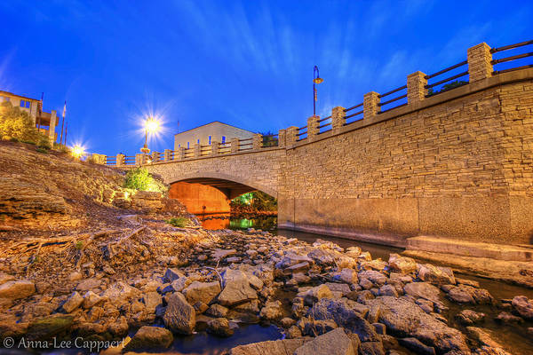 Menomonee Falls Art Print featuring the photograph Under The Bridge by Anna-Lee Cappaert