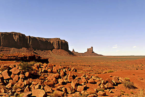 Monument Art Print featuring the photograph Utah's Iconic Monument Valley by Christine Till