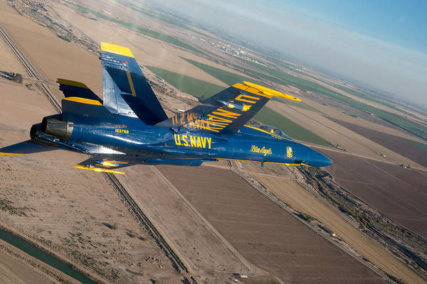 Navy Art Print featuring the photograph Blue Angel by Mountain Dreams