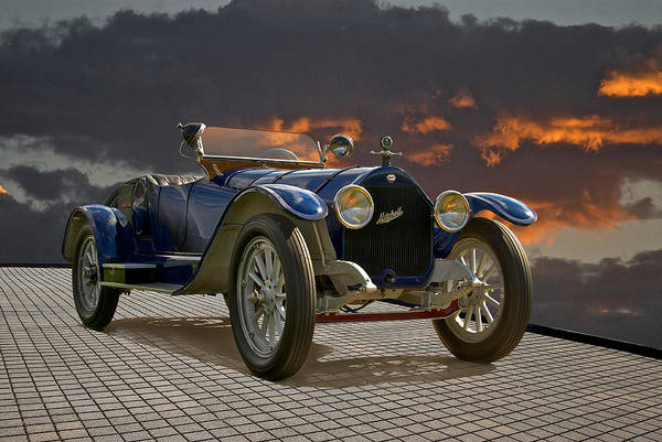 American Art Print featuring the photograph 1914 Mitchell Raceabout I by Dave Koontz