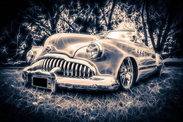 1949 Buick Art Print featuring the photograph 1949 Buick Eight Super by motography aka Phil Clark